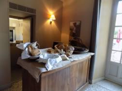 Chateau de Roussan Breakfast