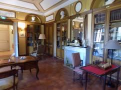 Chateau de Roussan Library