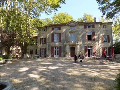 Chateau de Roussan Patio